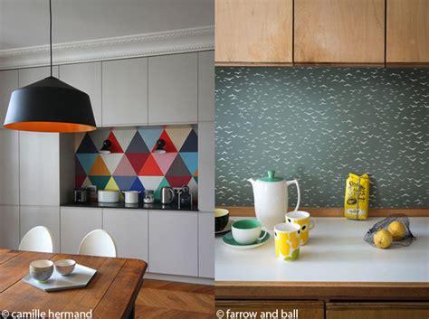 cuisine chagne exceptionnel papier peint lessivable pour cuisine 1 le