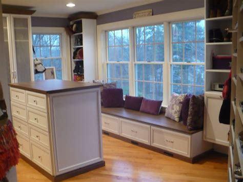 walk in closets with windows the island and window bench