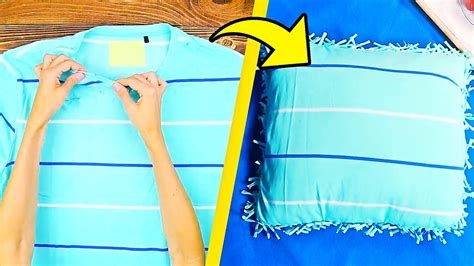 15 Cool Things To Make From Old Tshirts Youtube