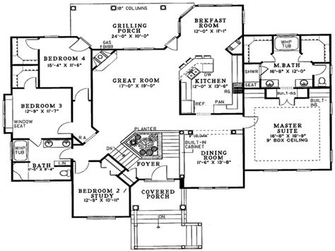 Split Foyer House Plans Split Level House Plans 4 Bedroom