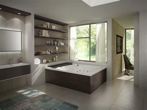 bagni con vasca idromassaggio vasche idromassaggio bollicine di benessere cose di casa