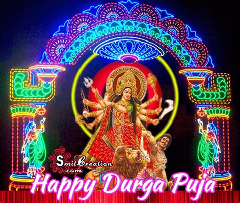 Maa Durga Animated Wallpaper For Desktop - dashami durga puja hd 3d gif wallpaper for desktop