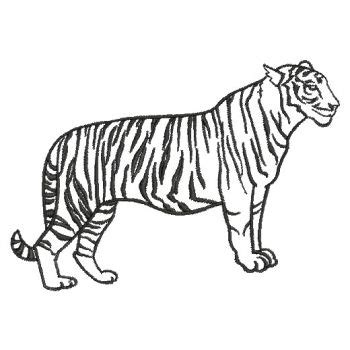 animal outlines clipart