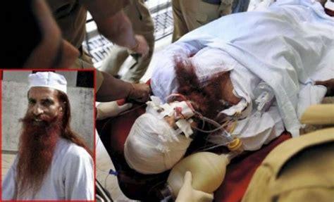 injured pakistani prisoner sanaullah dies  india