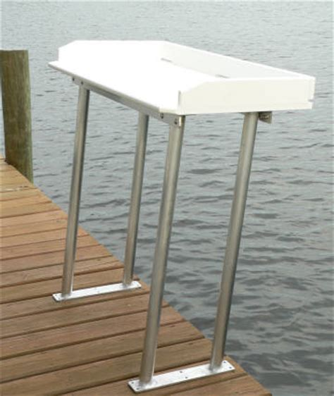 dock builders supply fish cleaning tables