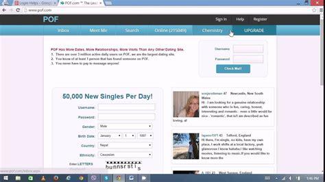 Pof Dating Website
