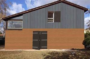 Simulateur Couleur Volets : bardage de facade maison r novation bardage et fa ades d ~ Melissatoandfro.com Idées de Décoration