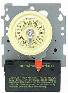 Intermatic Swimming Pool Timer Mechanism 110v T101m 125v