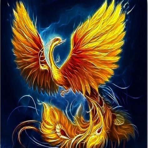 Golden Phoenix Diamond Painting Kit with Free Shipping - 5D Diamond Paintings