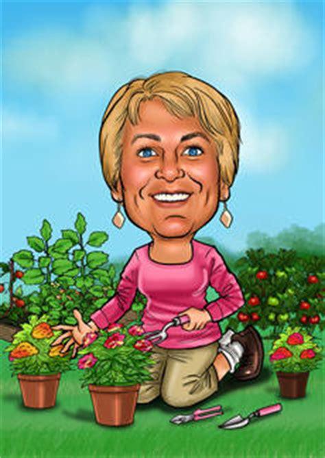 gardener woman bill  ben  cartoon men