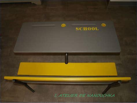bureau écolier relooké bureau d ecolier l atelier de nanouchka