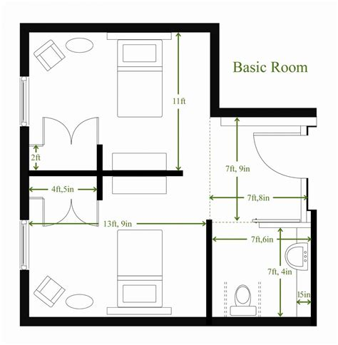 room design floor plan hotel room floor plans picture image by tag