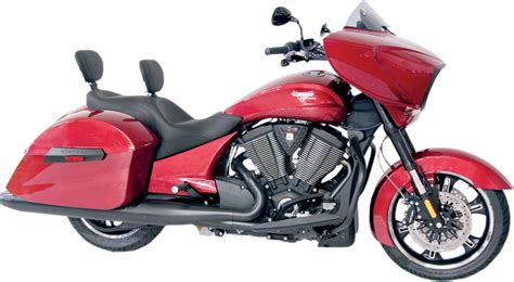Victory Motorcycle Seats Wide Touring With Driver Backrest