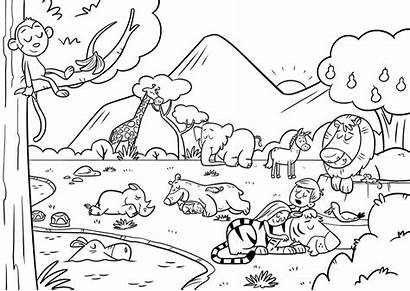 Coloring Pages Worksheets Bible Sheets App Popular