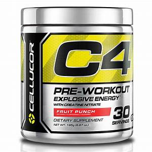 Amazon Com  Cellucor C4 Pre Workout Supplements With Creatine  Nitric Oxide  Beta Alanine And