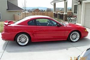 "Rio Red SN95 Cobra on 18"" Fikse Wheels | Sn95 mustang"