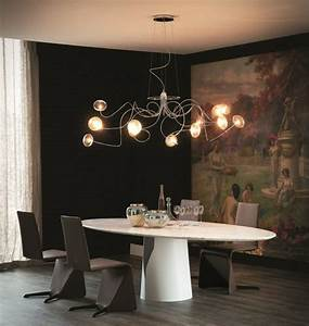 Lustre Pour Salle à Manger : embellir la salle manger avec lustre design ~ Teatrodelosmanantiales.com Idées de Décoration
