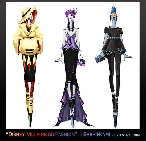 Disney villains go fashion III by Sashiiko-Anti on DeviantArt