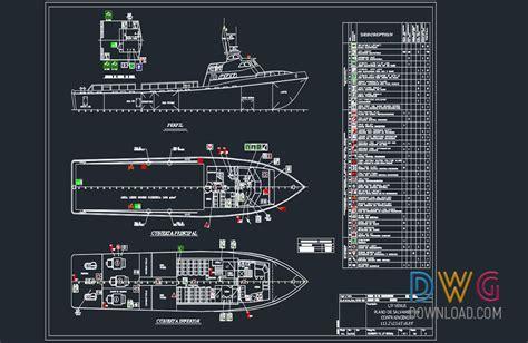 venus boat dwg 187 dwgdownload