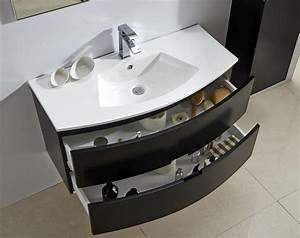 meuble salle de bain albi noir 100 With meuble salle de bain niort