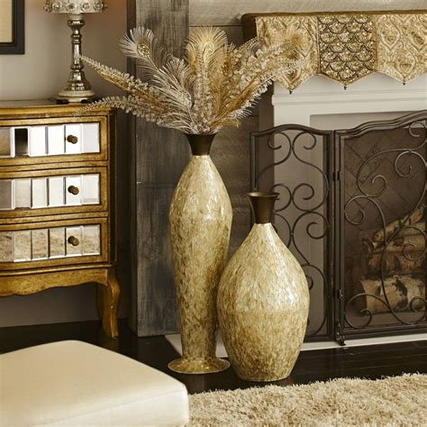 Floor Vases For Living Room by Living Room Antique Living Room Decorations And