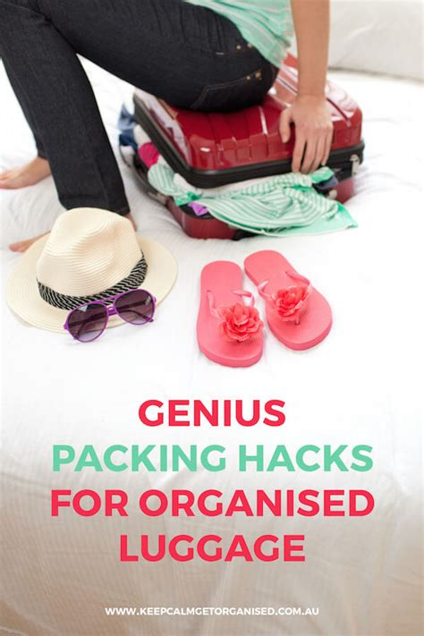 Packing Hacks Tips And Tricks For Organised Travel