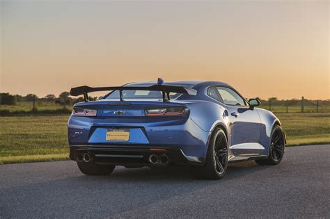hyper blue metallic exorcist zl le hennessey performance