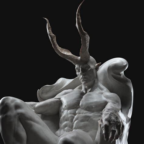 ArtStation - DEMONS - Classical sculpture   Game Assets