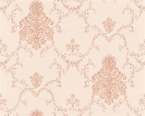 tapete barock barock tapete hermitage vii satin 6819 28 rosa With markise balkon mit tapete gold rosa