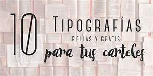 10 tipografías para tus carteles Maravillosas y grátis