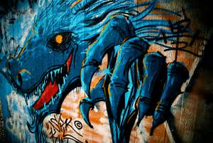 Grapyzona: Amazing Wildstyle Dragon Graffiti Art Design
