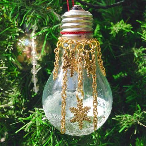 diy light bulb ornaments  christmas beesdiycom