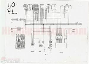 Kazuma 110cc Quad Wiring Diagram And 110cc Chinese Atv