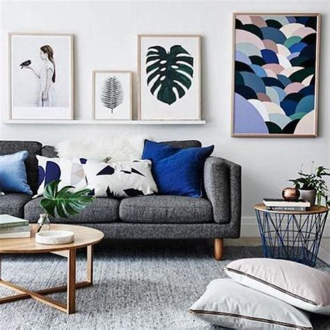 Decorating Ideas For Living Room With Grey Sofa by Living Room Inspiration How To Style A Grey Sofa The