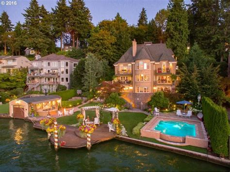 wow house lake oswego bedroom lake front property offers