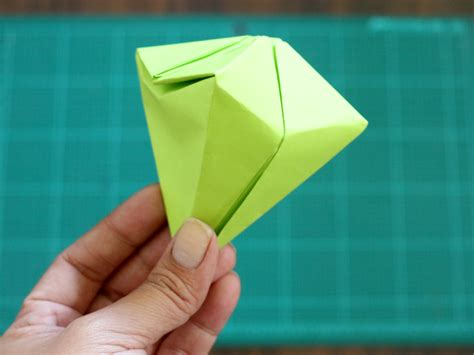 origami diamond  pictures wikihow