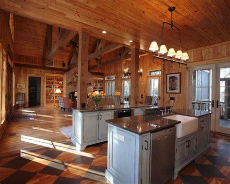 rustic open floor house plans rustic open kitchen floor plan cabin house plans cabin floor