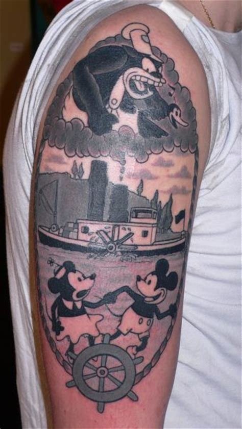 Steamboat Willie Tattoo by Strange Funny And Beautiful Tattoos 80 Pics Izismile