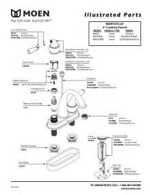 moen kitchen faucet manual moen faucet aerator parts images