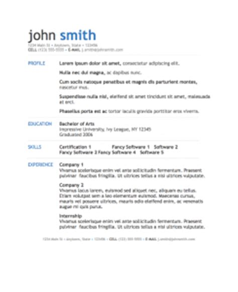 Asp Net Project Description In Resume by Simple Modern Resume Template For Pages Free Iwork Templates