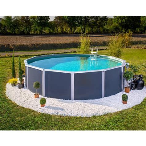 chambre pour auvent caravane piscine hors sol métal anthracite varuna trigano diam 3