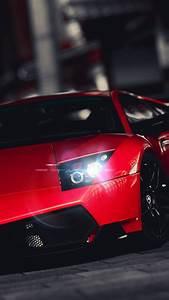 Lamborghini Veneno Bright Red Android Wallpaper free download