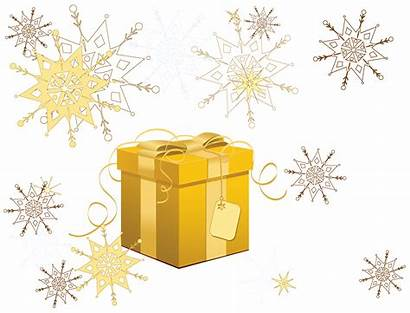 Transparent Yellow Snowflakes Clipart Gift Yopriceville Noel