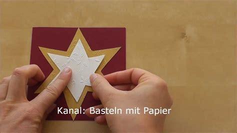 weihnachtskarten basteln bastelideen weihnachten