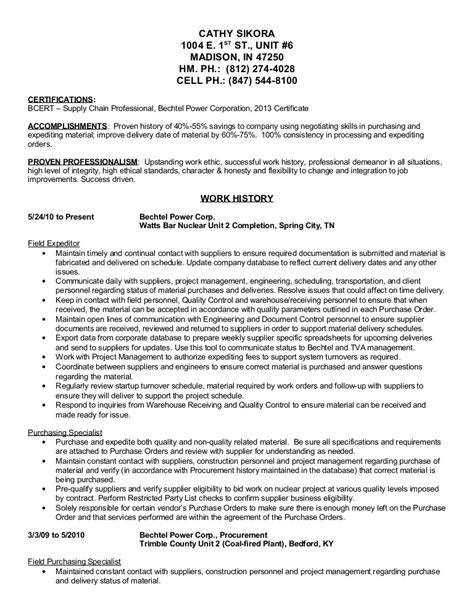 best ideas of cover letter for procurement specialist