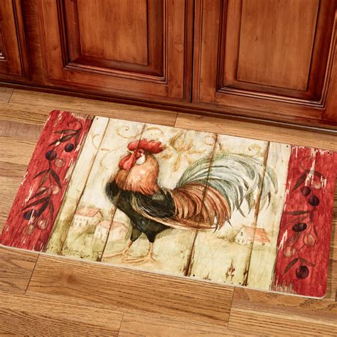 Kitchen Mat Rooster by Rustic Rooster Kitchen Comfort Mat