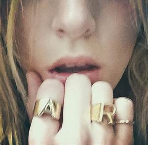 c is for chloe new alphabet charm collection launched by With chloe letter ring