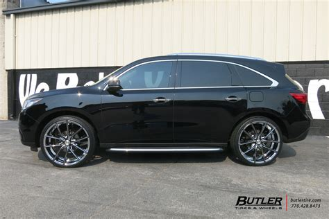 2006 Acura Mdx Tire Size by Acura Mdx With 24in Lexani Gravity Wheels Exclusively From