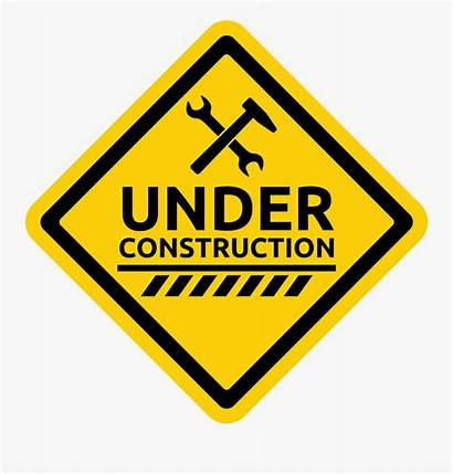 Under Construction Clipart Warning Icon Clipartkey