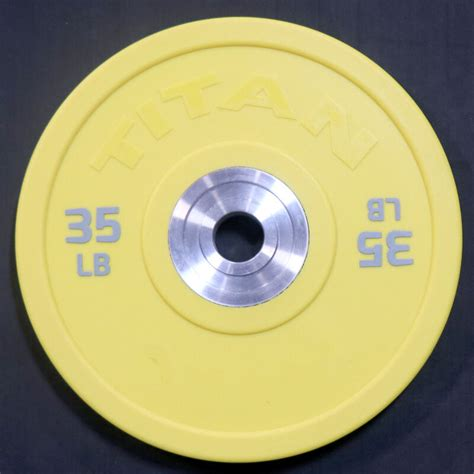 lb single color urethane bumper plate